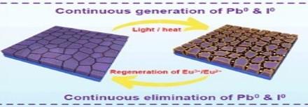 北京大学Science: Eu3+/Eu2+离子对赋予钙钛矿太阳能电池超稳操作耐久性
