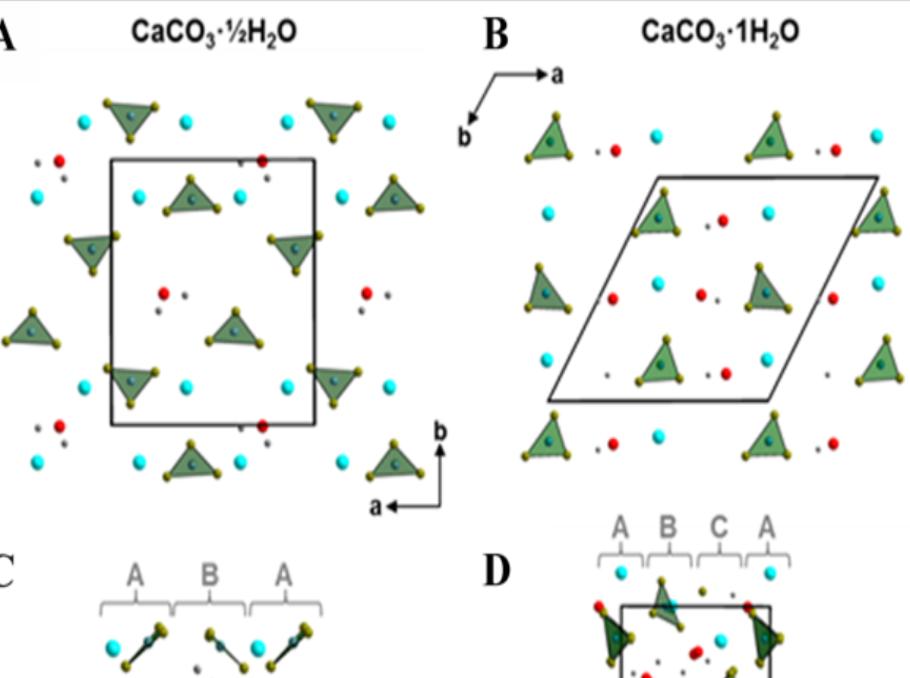 Science新发现:第三种含水碳酸钙晶相!
