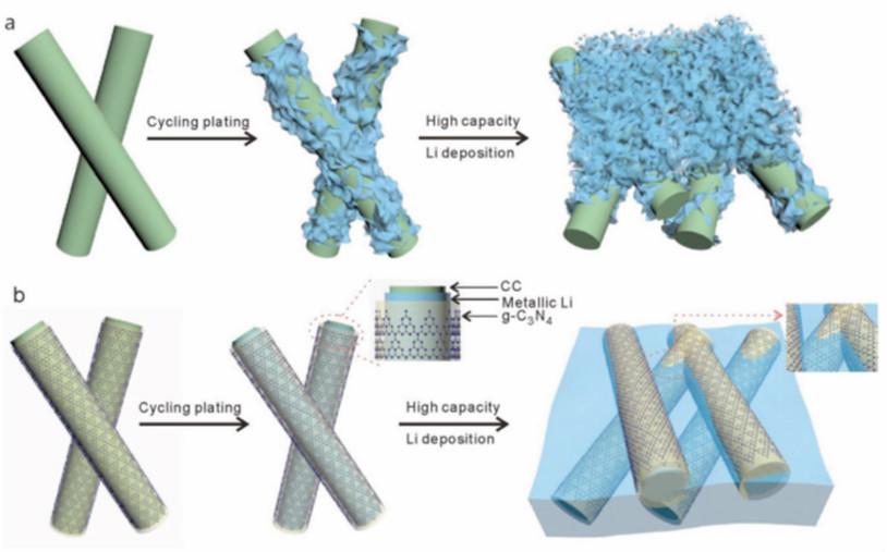 双效合一,夹层锂结构抑制枝晶生长