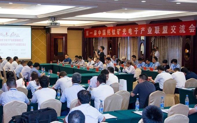 院士领衔、政府支持,中国钙钛矿光电子产业联盟在湖北成立