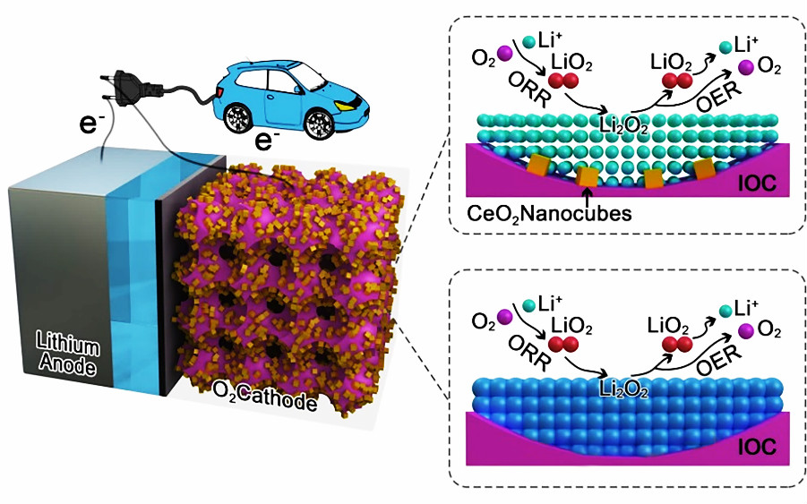 复旦大学孔彪团队AEM:超组装多孔框架材料用于智能化锂氧电池
