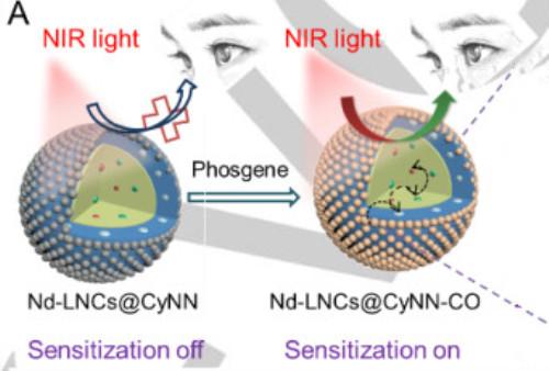 谭蔚泓院士团队:肉眼可读取的近红外荧光可视化技术!