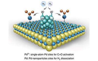 李亚栋/耿保友Nature Commun.:单原子和纳米粒子协同催化