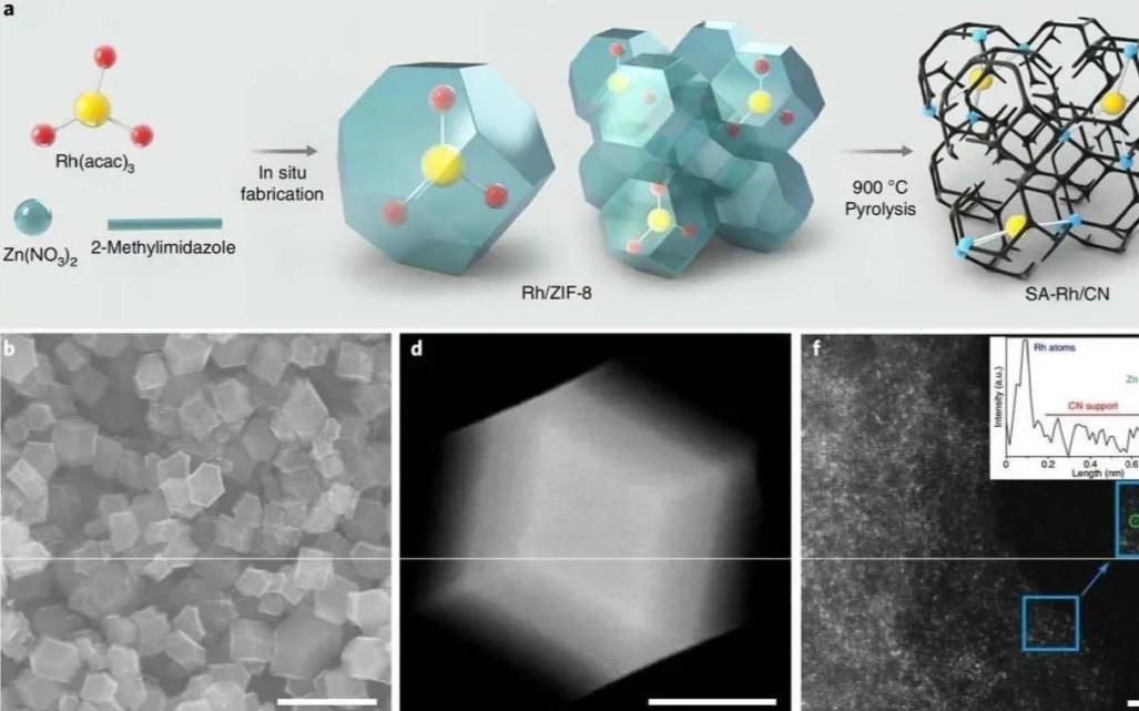 李亚栋/王定胜Nature Nanotech.:单原子催化剂为燃料电池再立新功