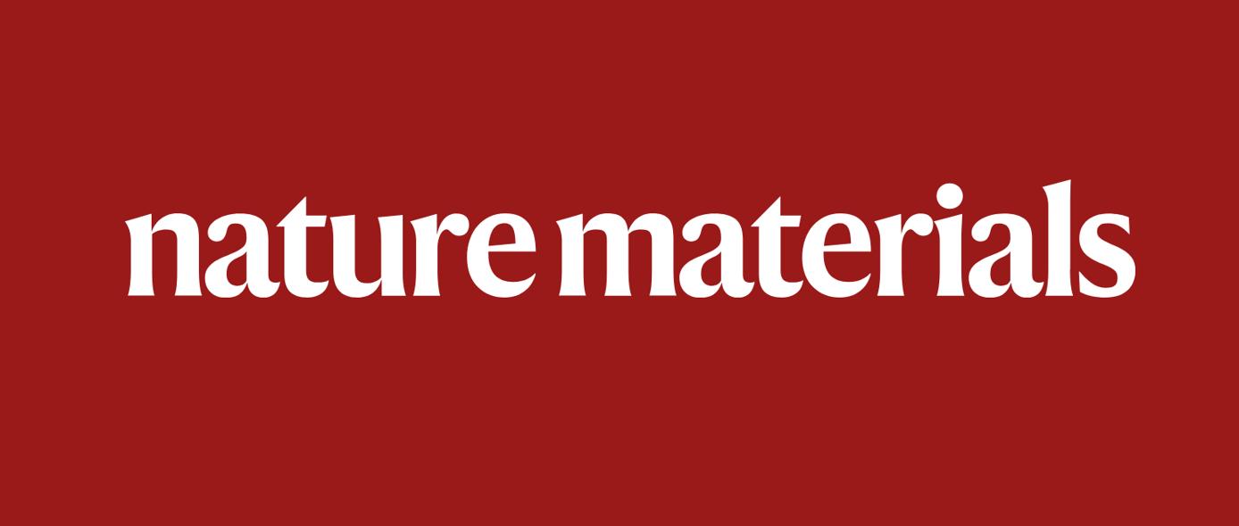生物粘合剂,再登Nature Materials!